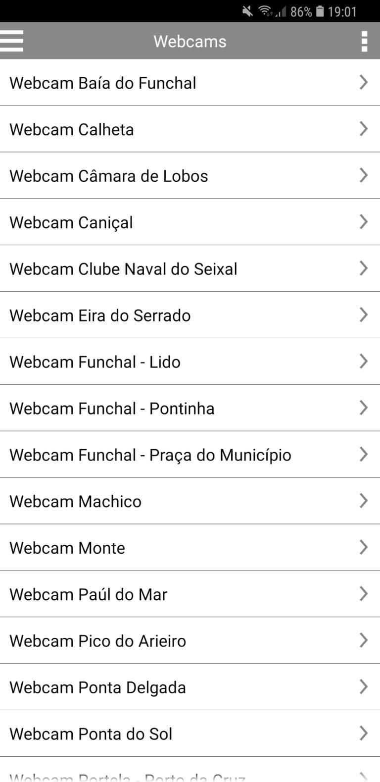 Madeira Island webcams - access them via the best weather app for Madeira Island || Kamery internetowe na Maderze - najlepsza aplikacja pogodowa na Maderze z kamerami na żywo