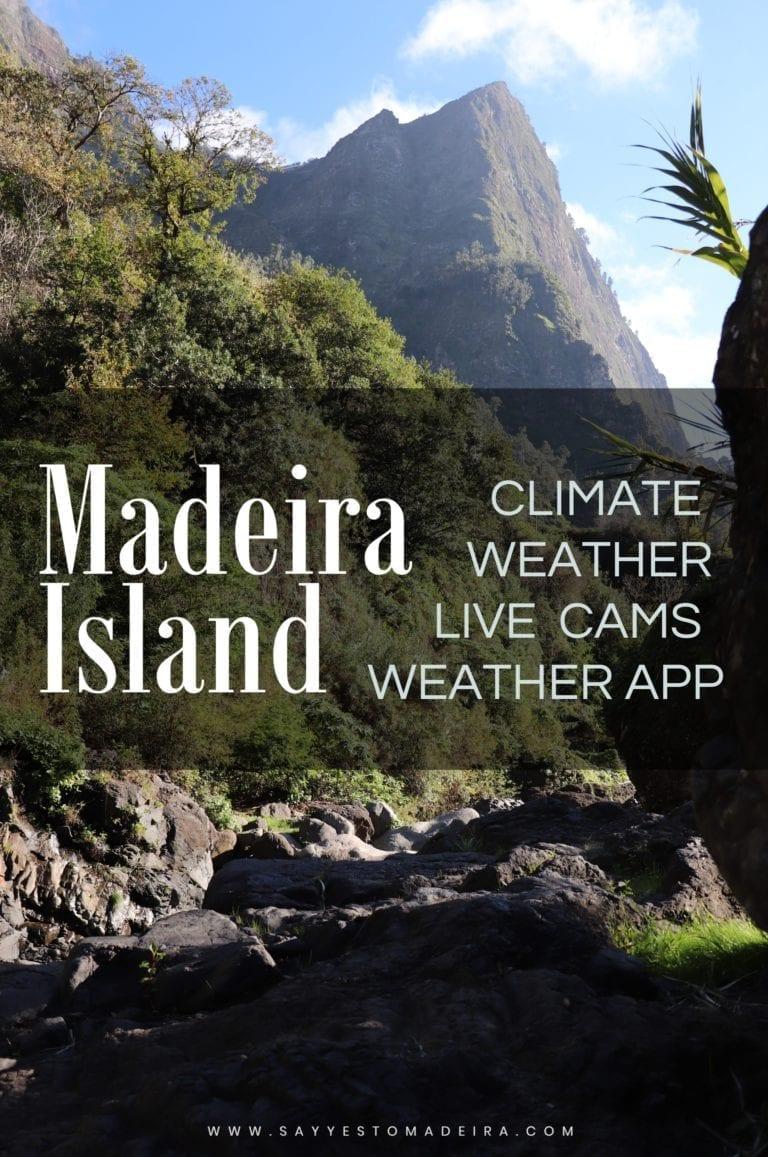 Madeira weather, climate, live webcams, best weather app | Pogoda na Maderze, klimat Madery, pogodowe kamery na Maderze, najlepsza aplikacja pogodowa na Maderze
