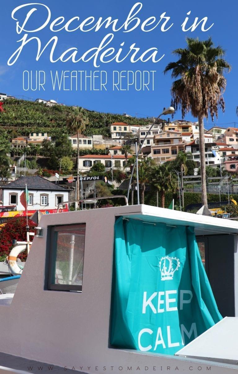 Weather in Madeira, Portugal, in December | Pogoda na Maderze zimą: Pogoda w Calheta, Seixal, Curral das Freiras i innych miejscach w grudniu