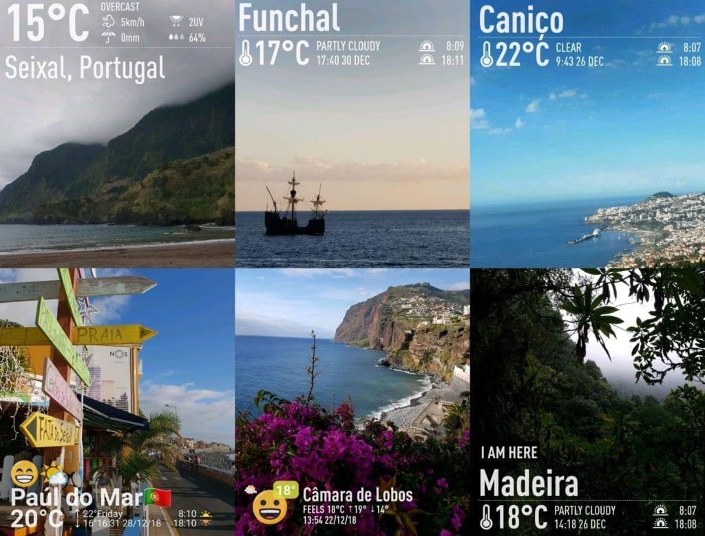 Weather in Madeira in December | Pogoda na Maderze zimą - pogoda na Maderze w grudniu