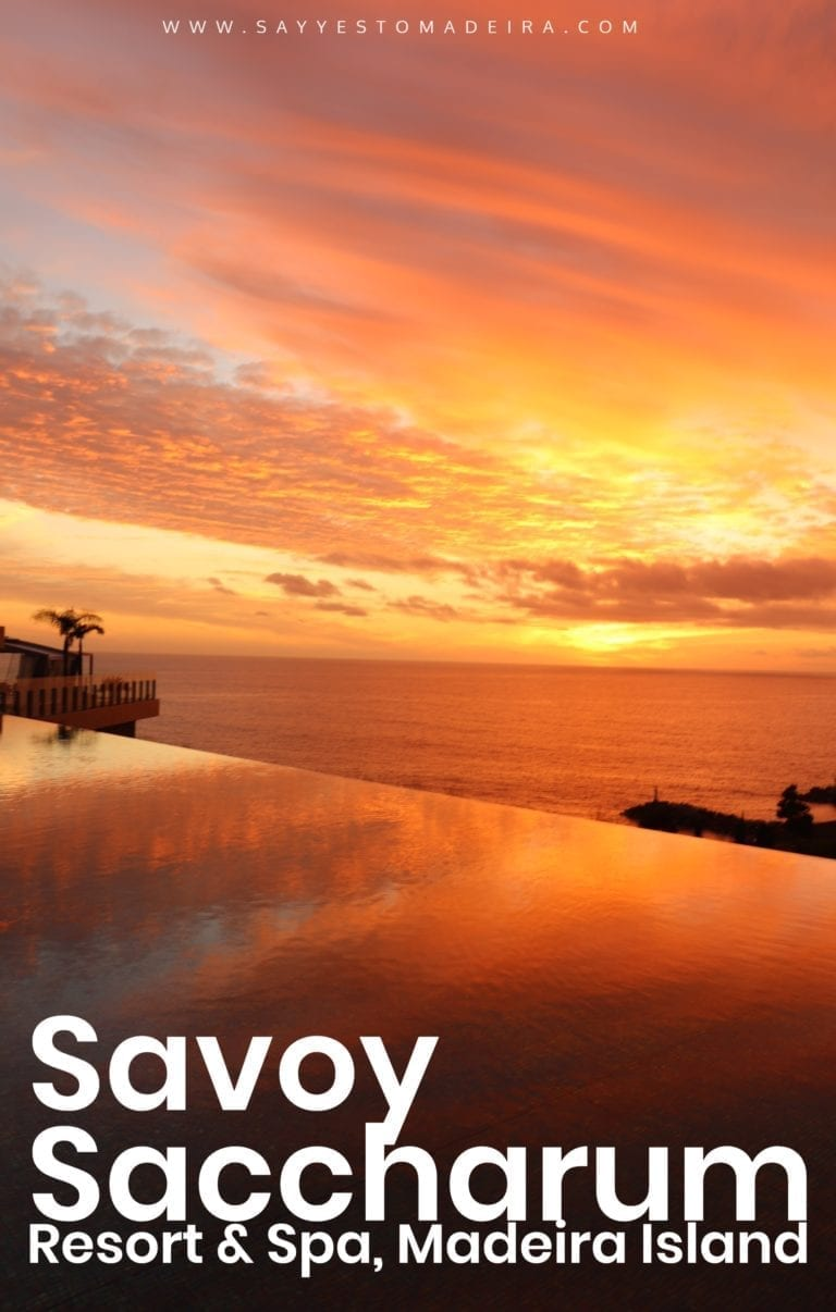 Madeira Island best hotels: Review of Savoy Saccharum Resort & Spa in Calheta, Portugal. ~ Najlepsze hotele na Maderze: Savoy Saccharum Resort & Spa w Calheta #madeira #madeiraisland #portugal #calheta #design #designhotel #infinitypool #sunset