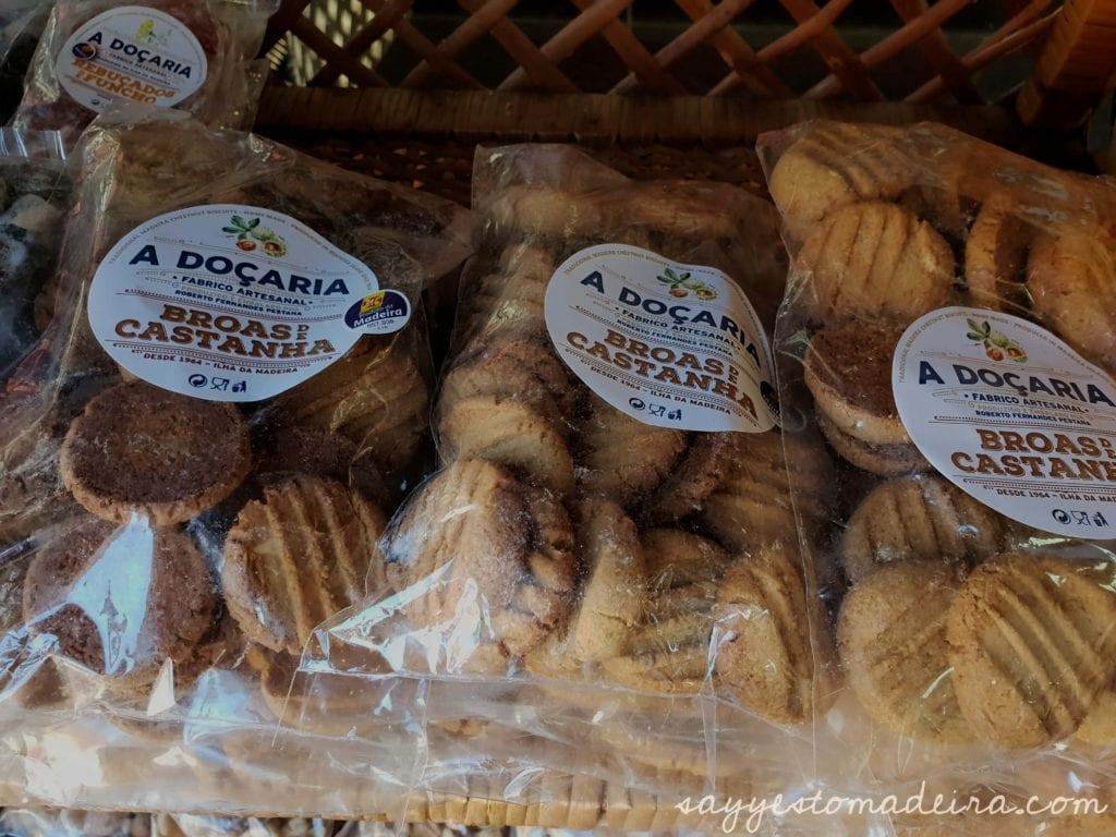 Chestnut dishes and chestnut products Madeira Island #foodie #madeira #espetada Dania i produkty z kasztanów na Maderze