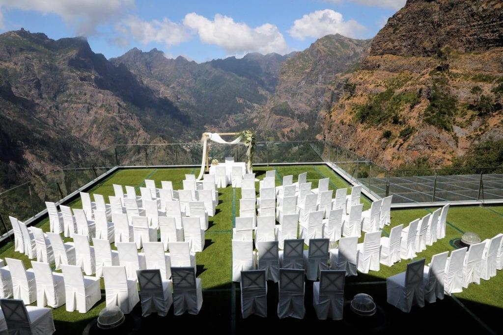 Spectacular mountain wedding venue in Madeira, Portugal #wedding #weddingvenue