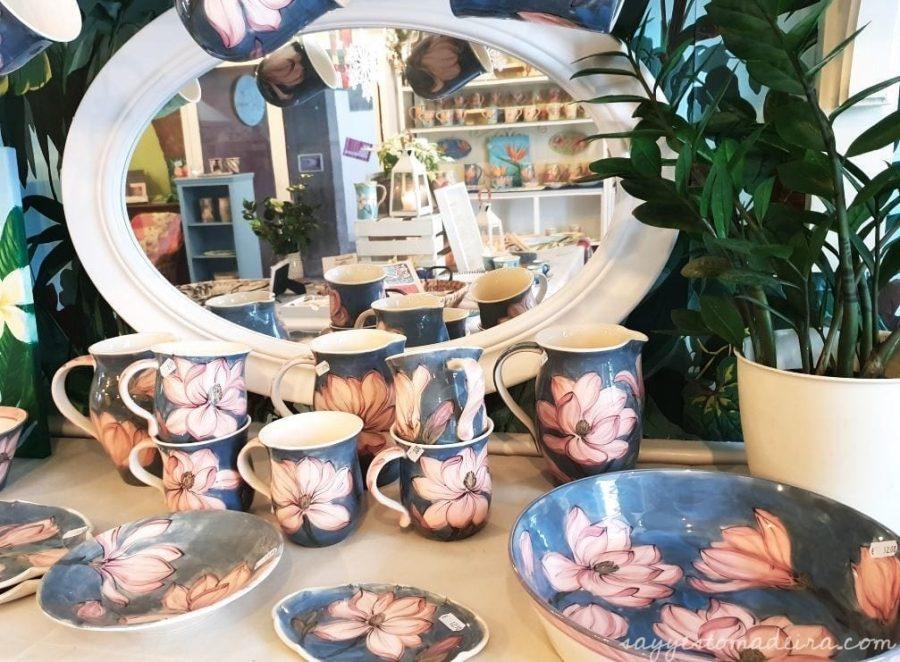 Handmade art Madeira Island. Madeira Island souvenirs at Lillie Ceramics, Armazém do Mercado, Funchal #madeira #handmade #beautiful #gift Ręcznie robione prezenty i pamiątki z Madery #madera #prezent