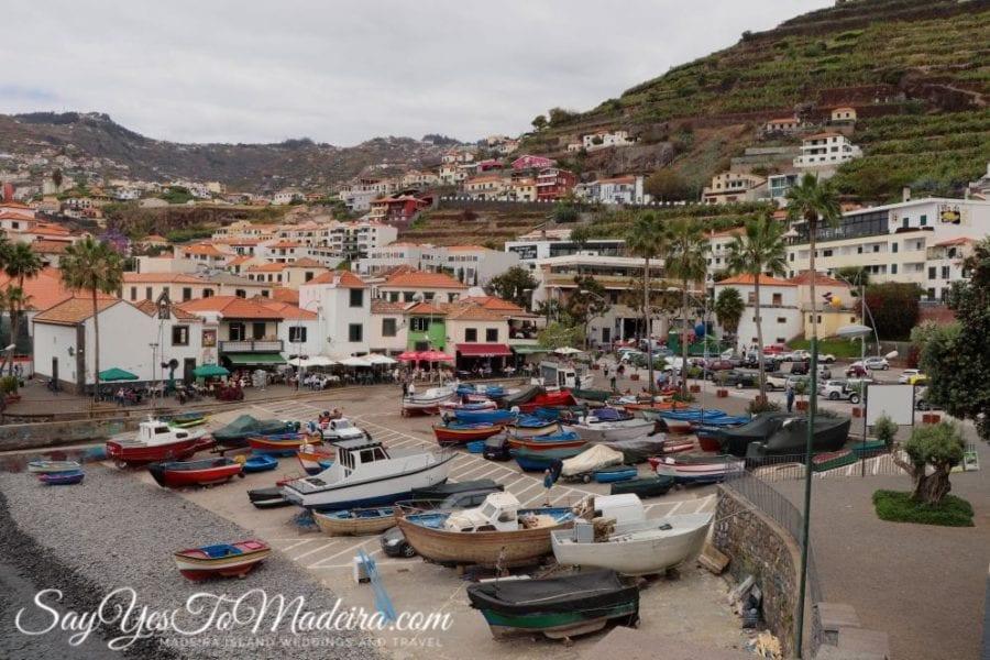 Must see in Madeira: Camara de Lobos. Funchal area attractions
