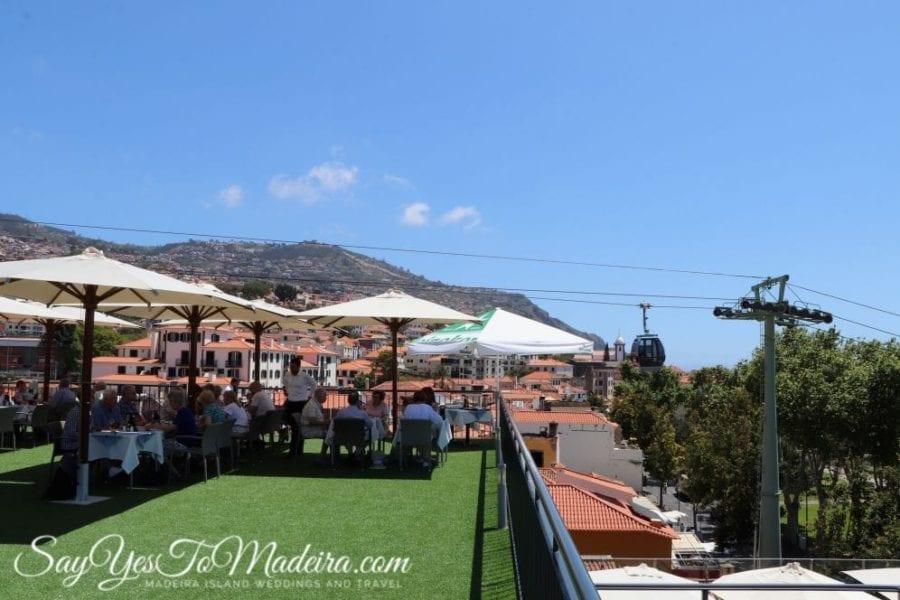 Funchal polecane restauracje z widokiem: Madeira Story Centre