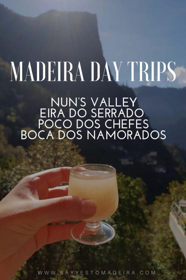 Madeira daytrips Nun's Valley Eira do Serrado Poco dos Chefes Boca dos Namorados