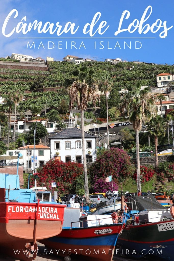 Places to visit in Madeira - Camara de Lobos town. Pico da Torre viewpoint.