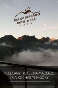 Hotel z widokiem na gory na Maderze