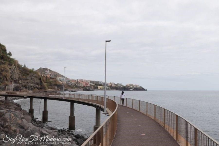 Camara de Lobos - Funchal Promenade, Praia Fromosa, Madeira Island in May