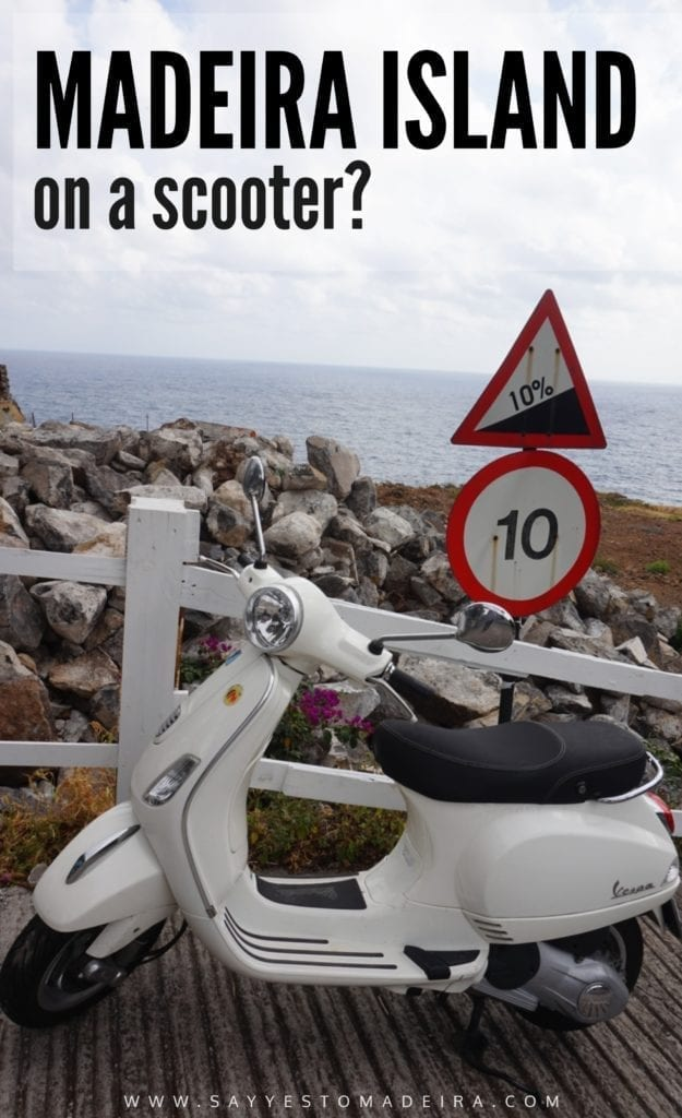Renting scooters in Funchal. Scooter rentals Madeira, Portugal. Is scooter a good way to move on Madeira Island? Scooter Madeira. #madeira #portugal #funchal #madeiratips #traveltips
