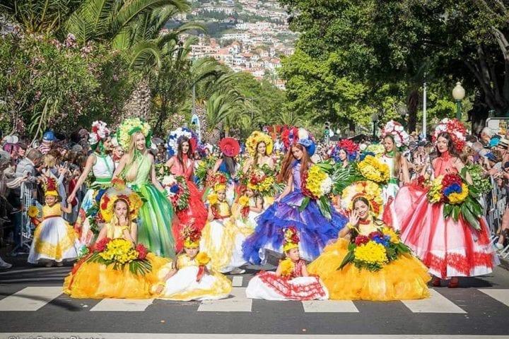 Flower Festiwal - Festa da Flor in Madeira Island - Flower Parade in Funchal
