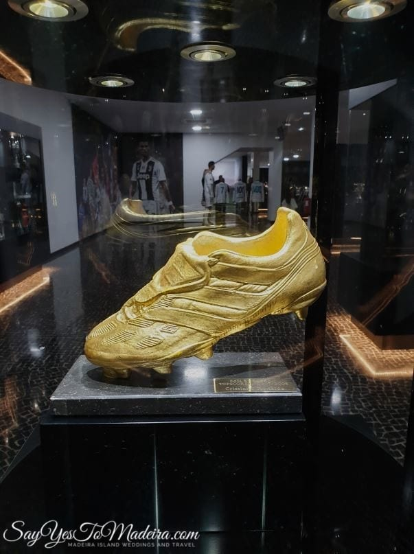 Cristiano Ronaldo - CR7 Museum in Funchal, Madeira