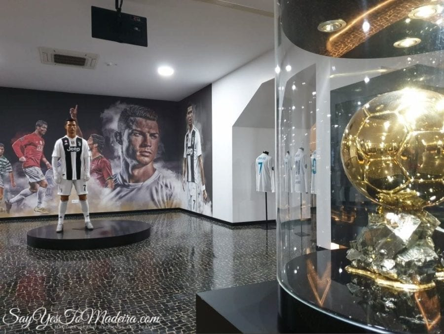 Cristiano Ronaldo - CR7 Museum in Funchal, Madeira