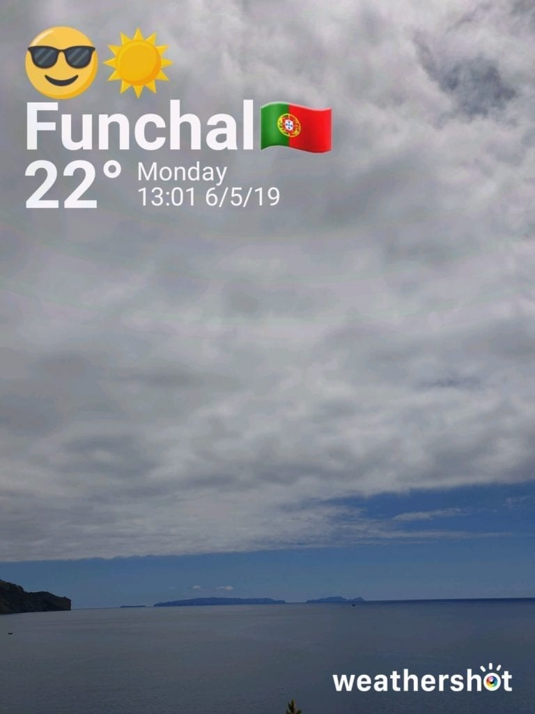 Weather in Madeira in May - Pogoda na Maderze w maju