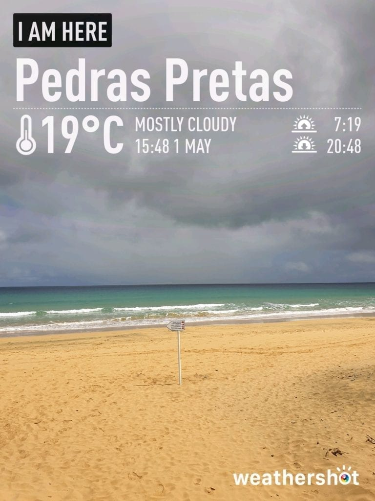Our weather report: weather in Pedras Pretas, Porto Santo, Portugal in May - Nasz raport pogodowy - pogoda na Porto Santo w maju Beautiful beaches Porto Santo - Najpiękniejsze plaże Portugalii: Porto Santo