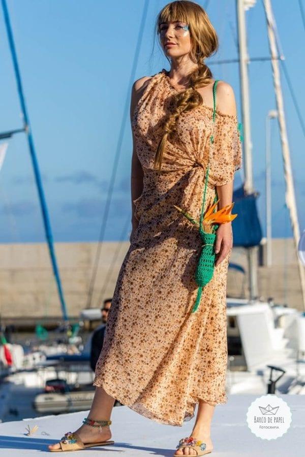 Designer Mariana Sousa - Madeira Flower Collection 2019 - Fashion Show Madeira Island - Moda portugalska - Pokaz mody w Funchal, Portugalia #fashionshow #moda #designer