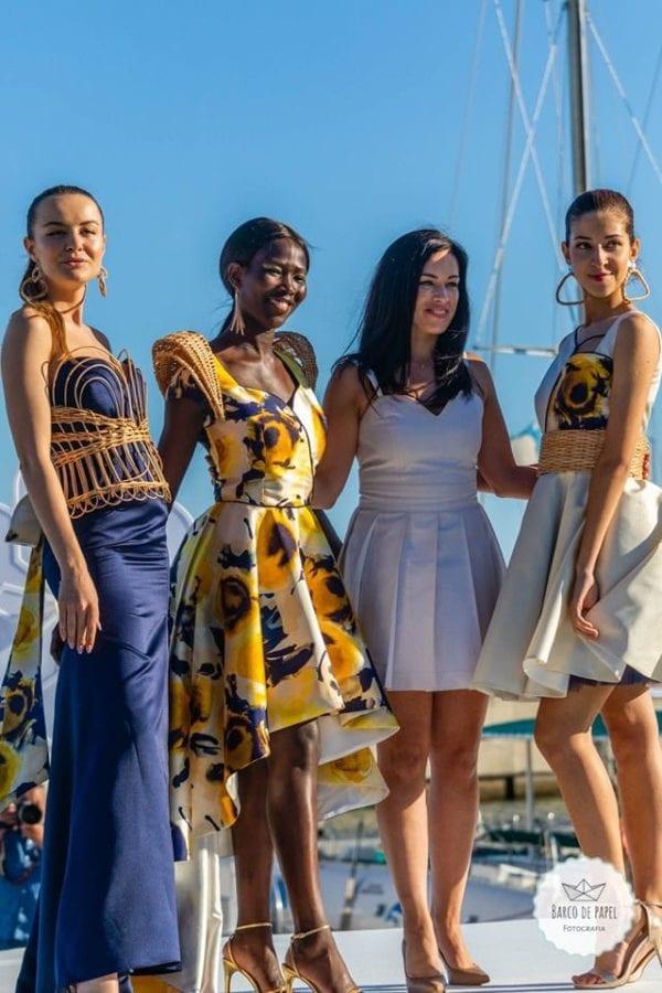 Designer Sandra Vieira - Floral dresses presented during Madeira Flower Collection 2019 - Kwieciste suknie pokazane podczas pokazu mody w Funchal #dress #suknia #maxidress #floraldress #kwiecistasuknia #sukniawkwiaty #madeira #funchal #portugal