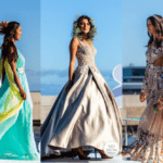 Beautiful floral dresses presented during Madeira Flower Collection 2019 in Madeira, Portugal - Piekne kwieciste suknie podczas pokazu mody w Funchal #maxidress #floraldress #madeira