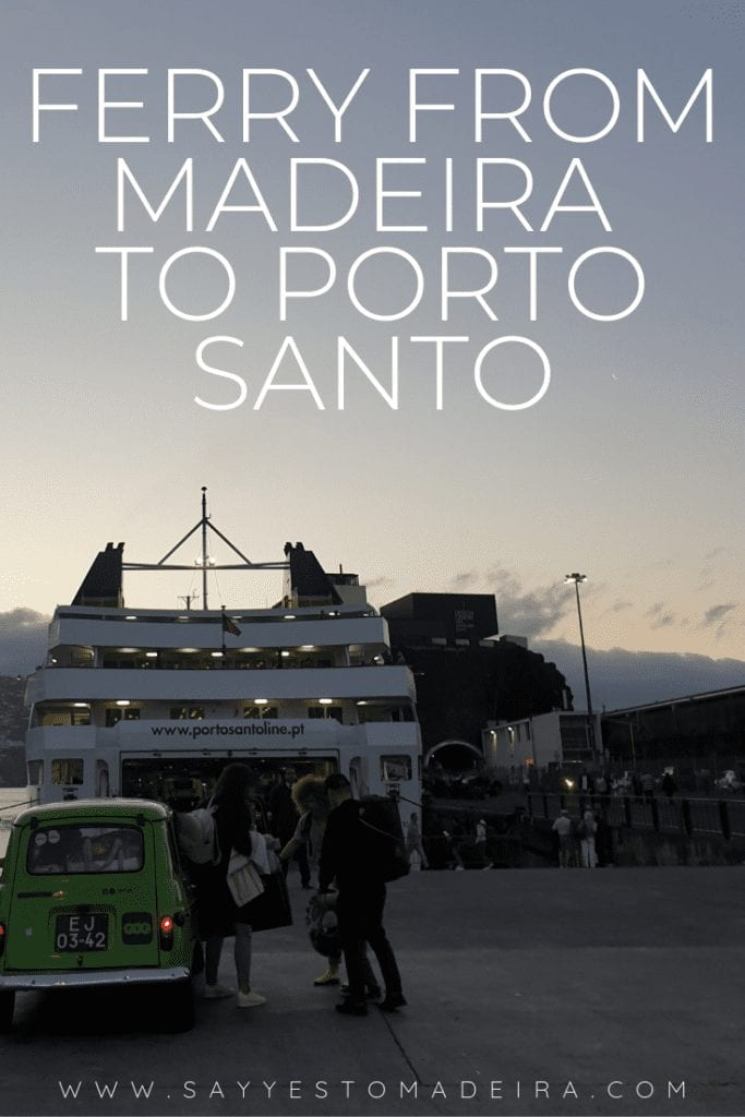 Ferry from Madeira Island to Porto Santo - our review and tips II Prom z Madery na Posto Santo