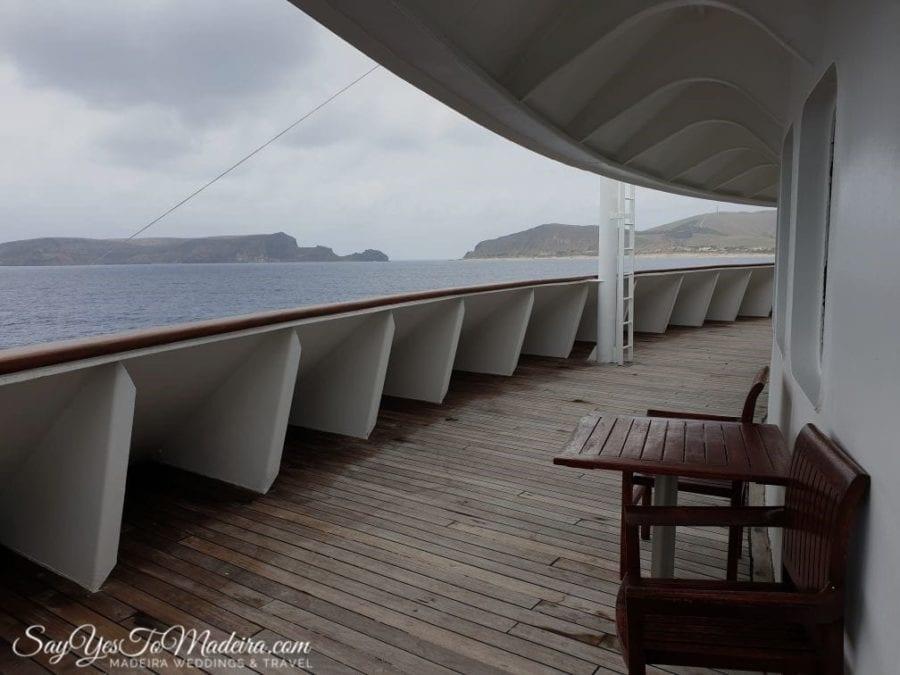 Travelling to Porto Santo from Funchal by ferry II Prom z Madery na Posto Santo - ważne informacje