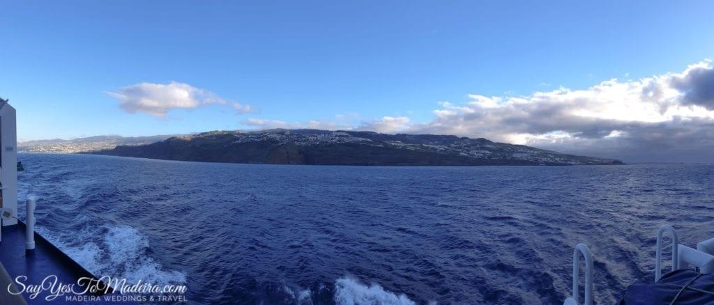 Ferry service Lobo Marinho from Madeira Island to Porto Santo II Prom z Madery na Posto Santo