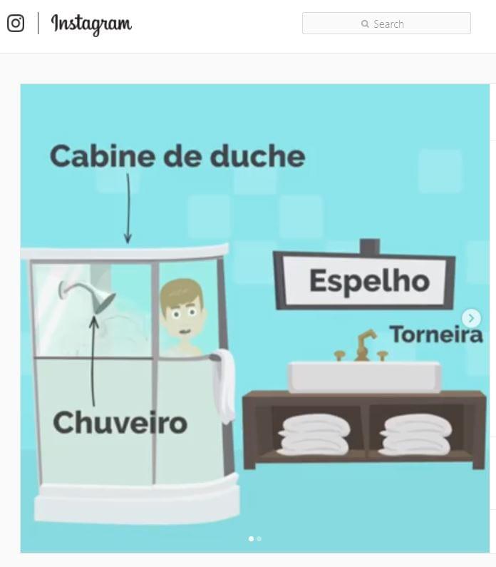 nauka portugalskiego europejskiego przez internet: słówka