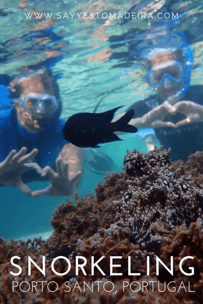 Snorkeling Portugal