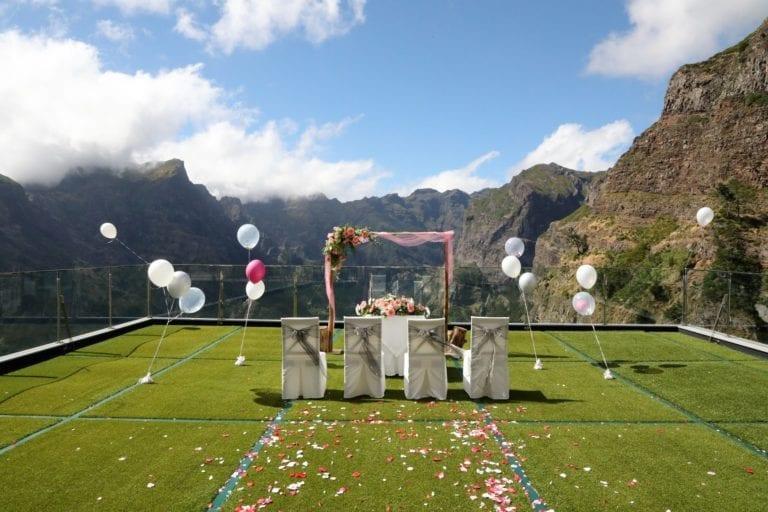 Ślub w górach za granicą - ślub na Maderze - Śluby Madera - Ślub Portugalia - Hotel ślubny w górach