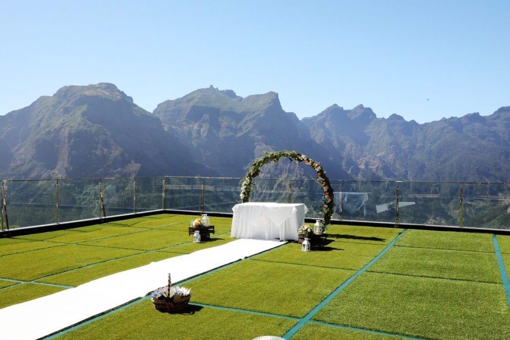 Ślub w górach za granicą - ślub na Maderze - Ślub Madera - Ślub Portugalia - Niesamowite miejsca na ślub