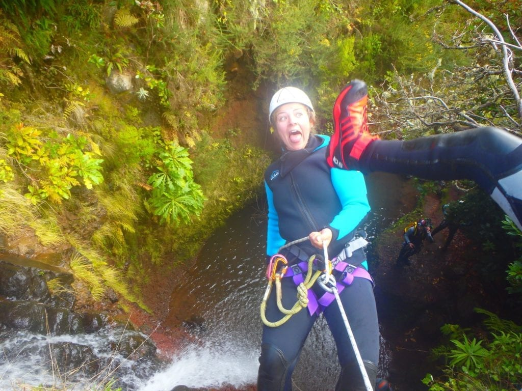 Madeira Island Nature Festival - Canyoning in Madeira - Iva's Erasmus Exchange on Madeira Island, Portugal