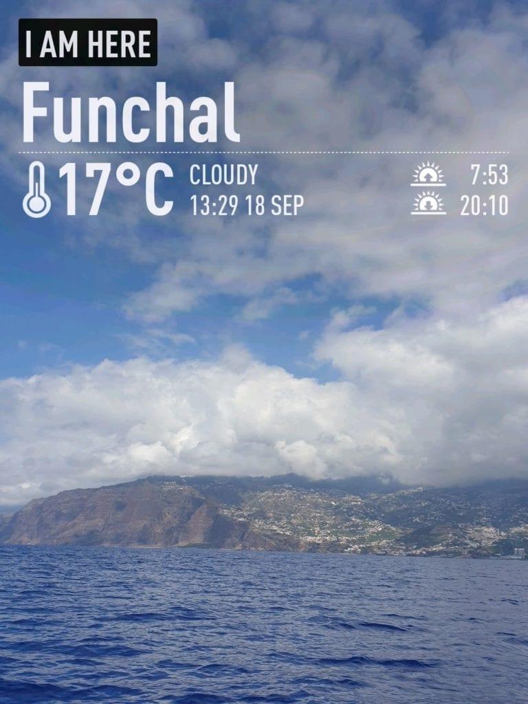 Pogoda na Maderze we wrześniu. Temperatura wody w oceanie na Maderze jesienią. Pogoda w Funchal po sezonie letnim.