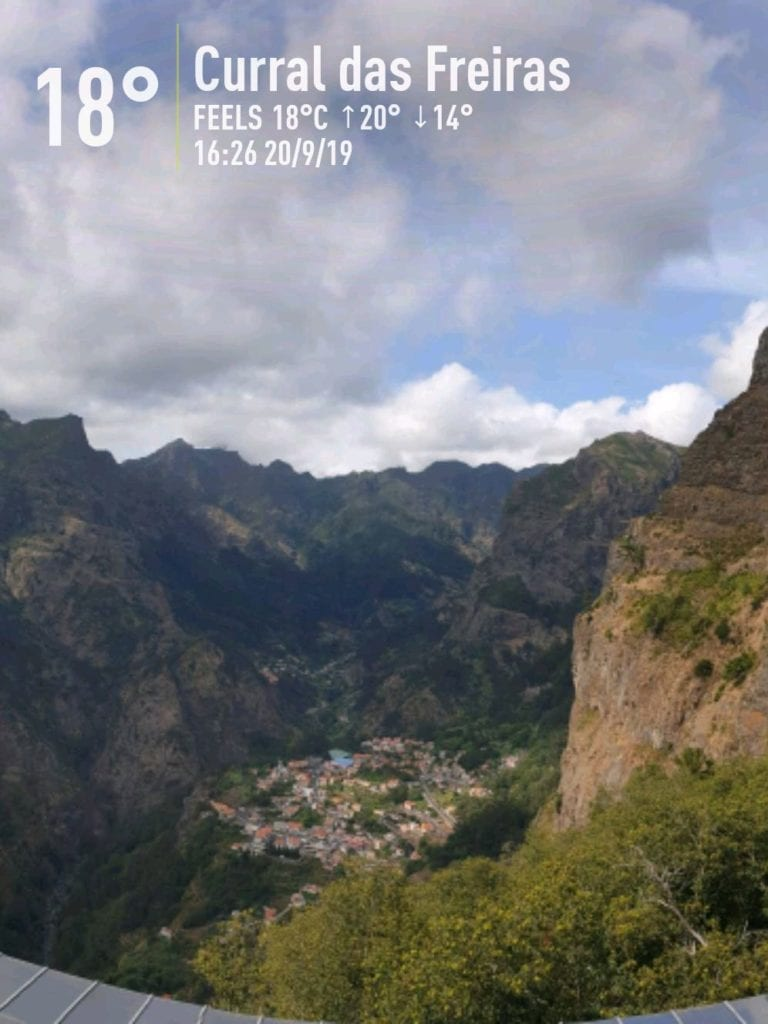 Weather in Madeira, Portugal in September. Madeira Island weather September. Nun's Valley and Eira do Serrado in September.