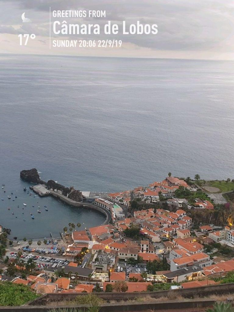 Weather in Camara de Lobos, Madeira, Portugal in September. Madeira Island weather September. Pico da Torre Viewpoint