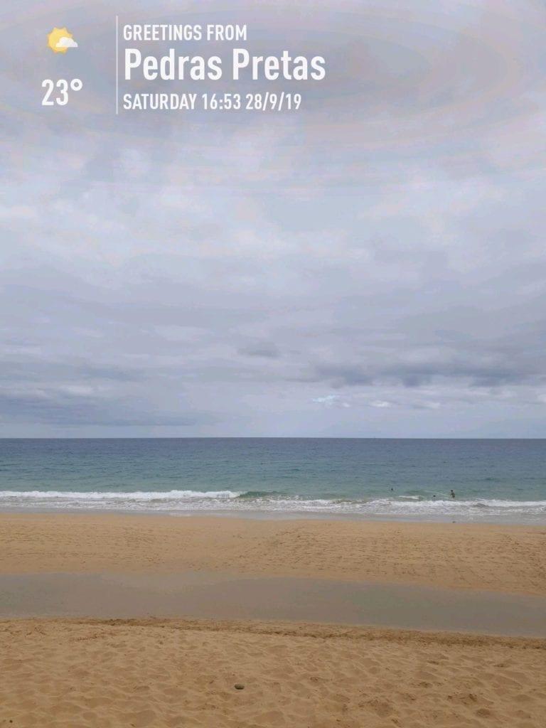 Pogoda w Vila Baleira na Porto Santo we wrześniu i październiku. Temperatura wody i kąpiele na Porto Santo jesienią.