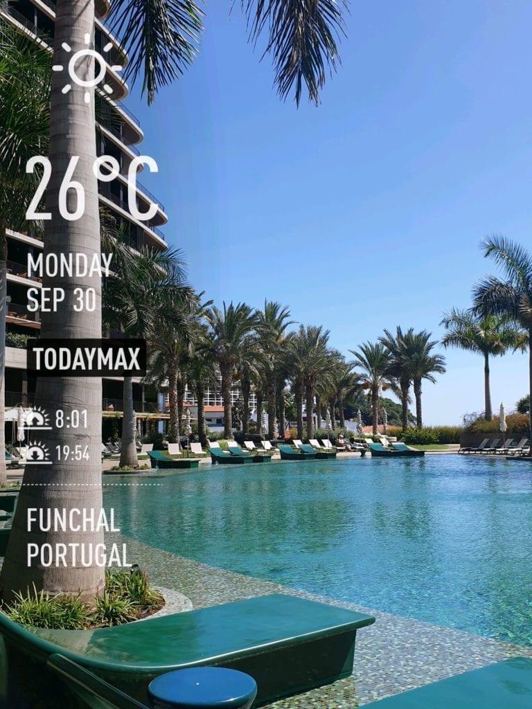 Pogoda na Maderze we wrześniu. Temperatura wody w Funchal na Maderze po sezonie letnim. Madera we wrześniu.