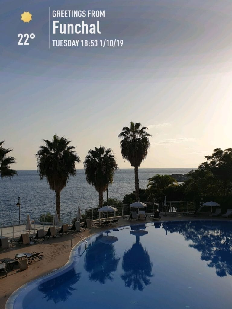 Pogoda na Maderze we wrześniu. Temperatura wody w Funchal na Maderze po sezonie letnim. Madera we wrześniu. Hotel Melia w Funchal