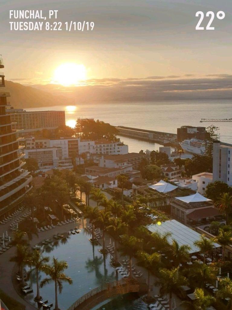 Pogoda na Maderze we wrześniu. Temperatura wody w Funchal na Maderze po sezonie letnim. Madera we wrześniu. Hotel Savoy Palace na Maderze