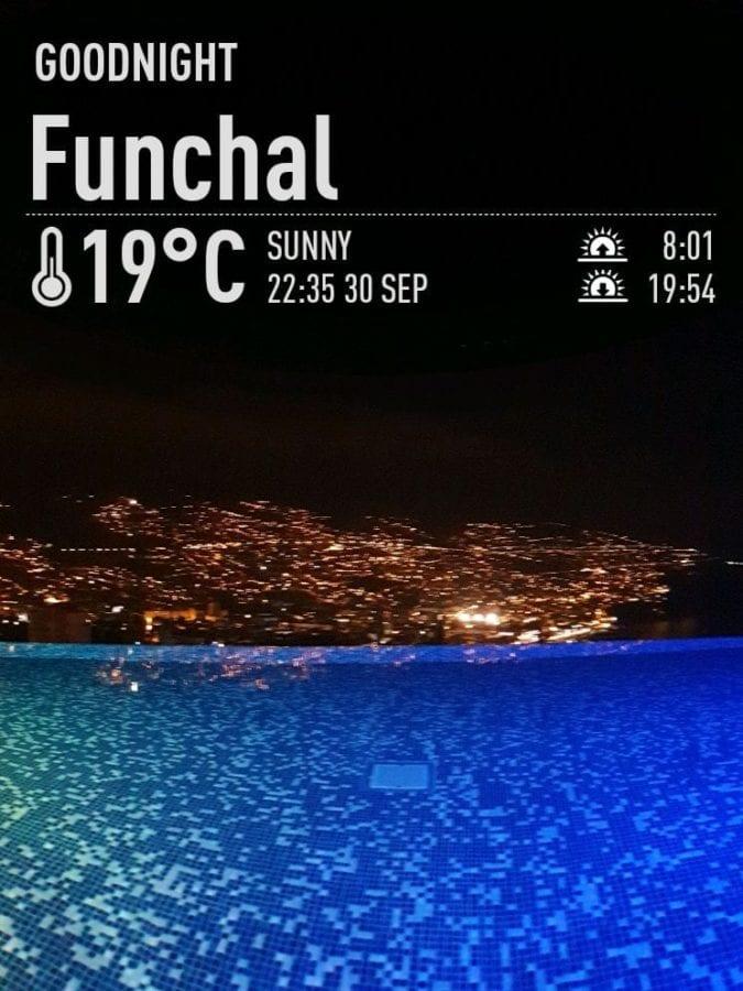 Pogoda na Maderze we wrześniu. Temperatura wody w Funchal na Maderze po sezonie letnim. Madera we wrześniu. Hotel Savoy Palace na Maderze - baseny