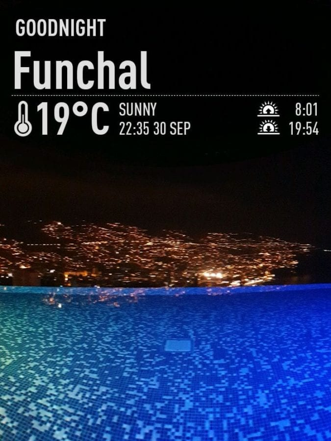 Weather in Funchal in September. September weather in Madeira. Savoy Palace Hotel pools