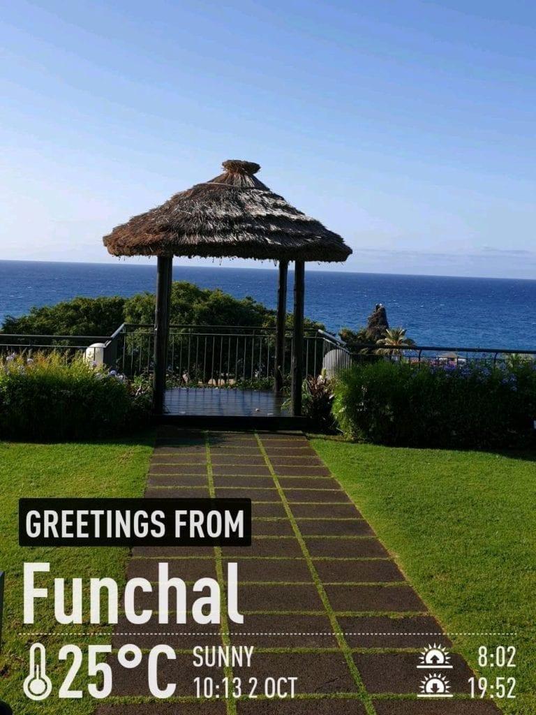 Pogoda na Maderze we wrześniu. Temperatura wody w Funchal na Maderze po sezonie letnim. Madera we wrześniu. Hotel Porto Bay na Maderze