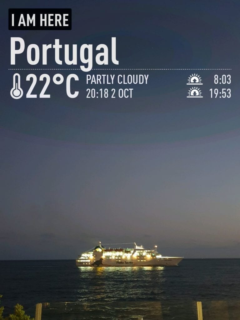Weather in Funchal in October - October weather in Madeira - Lobo Marinho Ferry