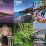 Weather in Portugal in August, September and October. Portugal weather in the autumn,