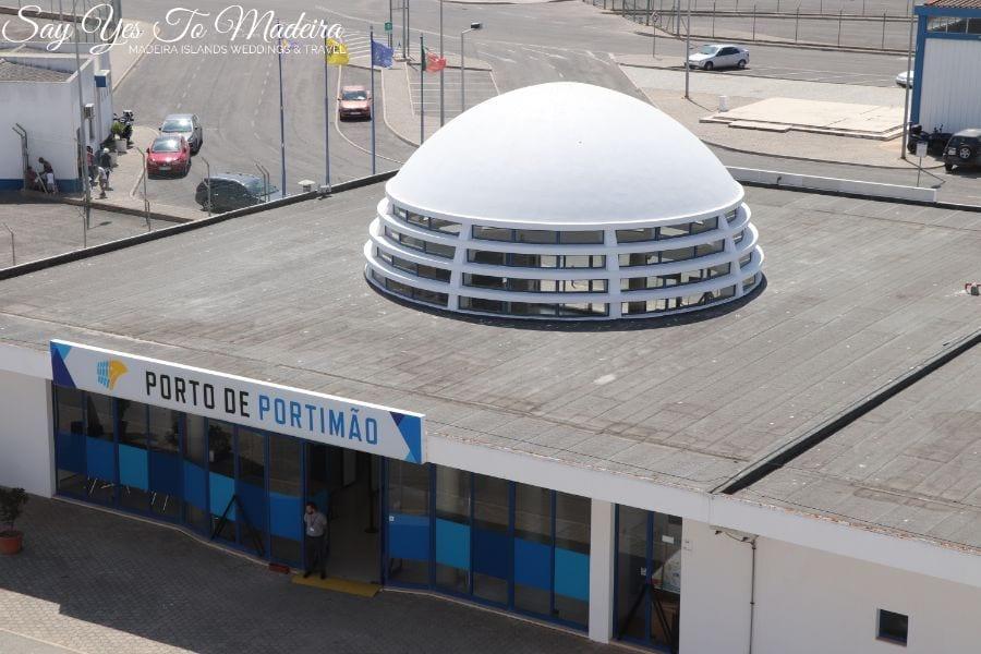Połączenie promem z Portimao w Algarve na Maderę i Wyspy Kanaryjskie (Teneryfę i Gran Canaria) 2019 - Port w Portimao