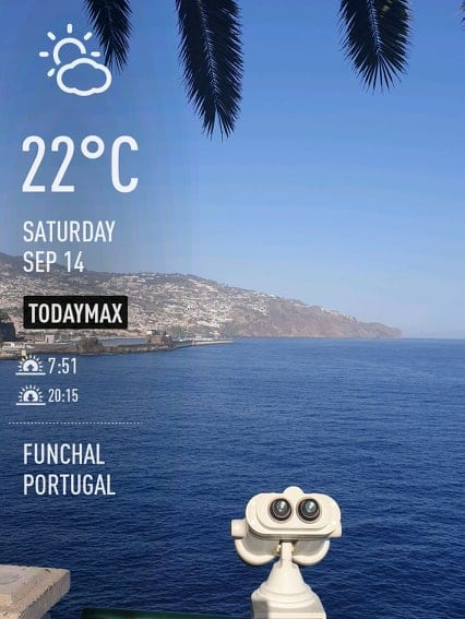 Pogoda na Maderze we wrześniu. Pogoda na Maderze jesienią.