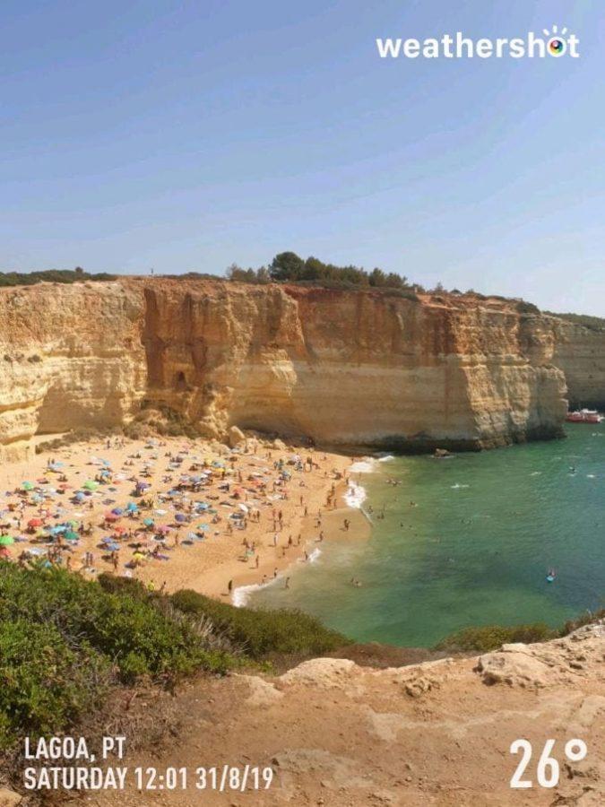 Pogoda w Algarve w sierpniu. Weather in Algarve in August