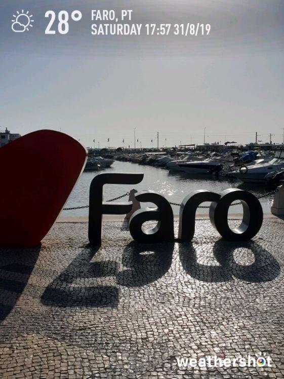 Pogoda w Algarve we wrześniu. Pogoda w Faro we wrzesniu