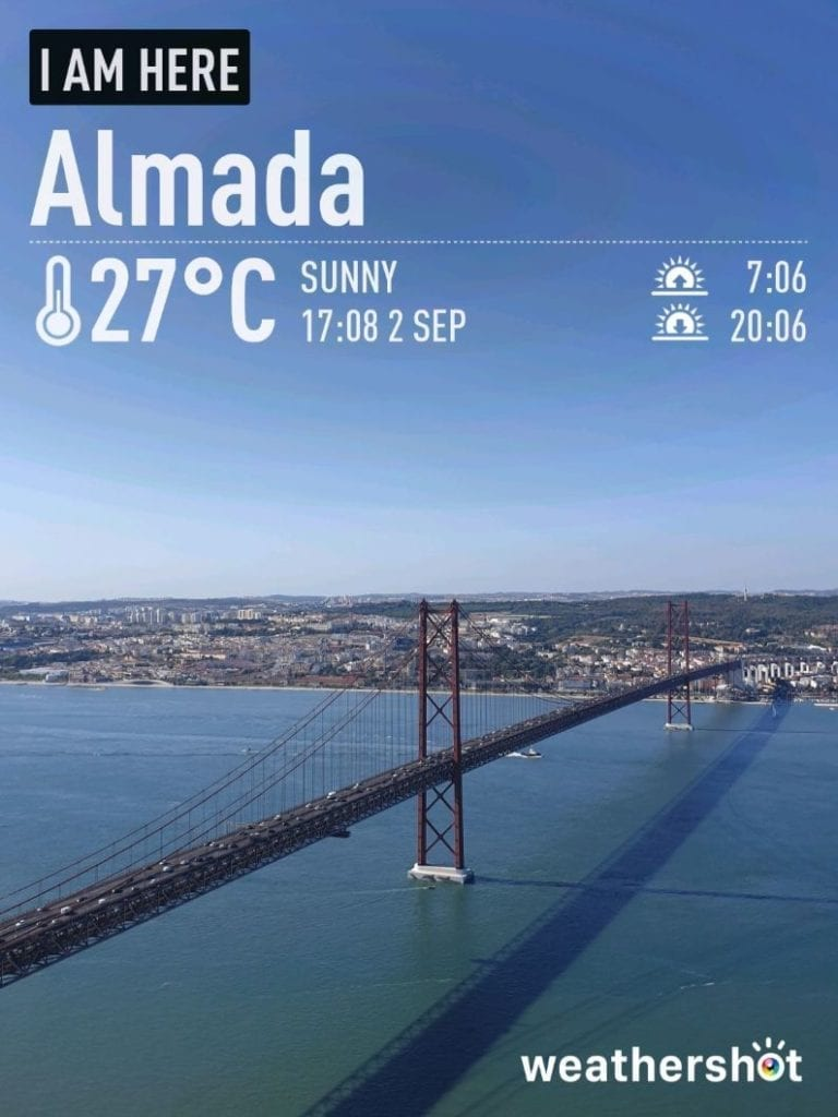 Pogoda w Lizbonie we wrześniu