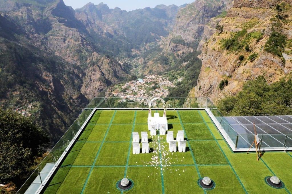 Mountain wedding venue - Madeira Island, Portugal