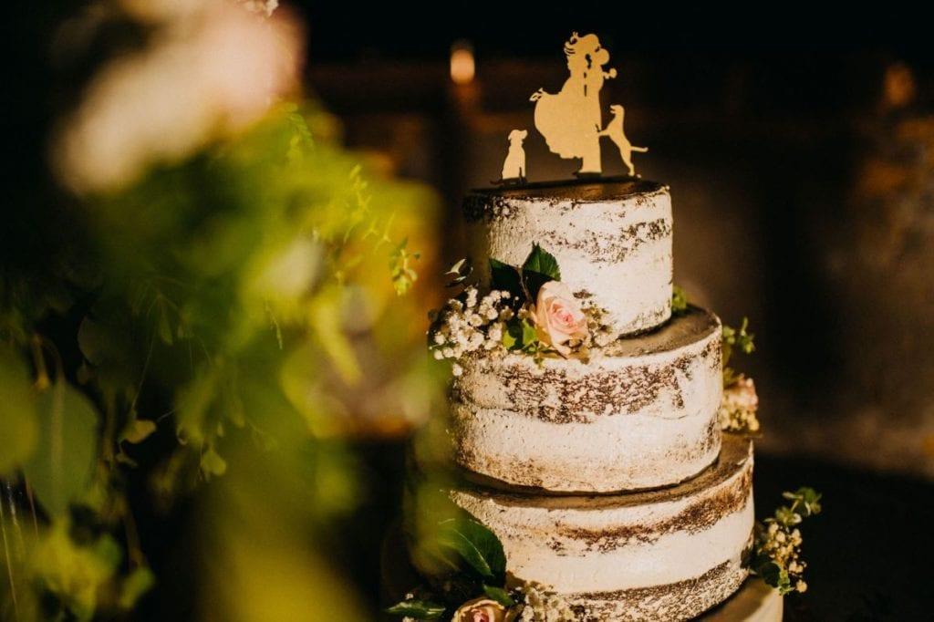 Naked wedding cake - wedding bakery Funchal